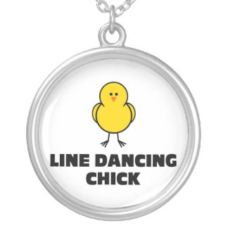 Línea polluelo del baile grímpola