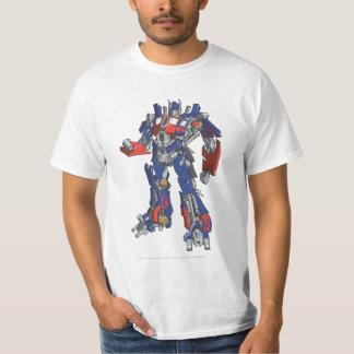 Línea primera arte 2 de Optimus Remera