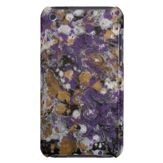 LineA Purple Gold Galaxy Case-Mate iPod Touch Case