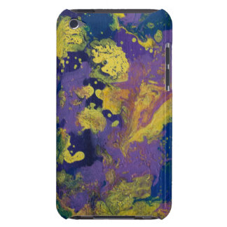 LineA Purple Paint Swirls II Barely There iPod Case