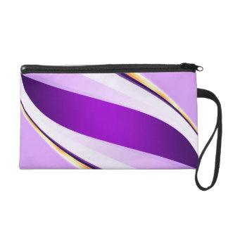 Línea púrpura abstracta