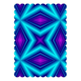"""línea púrpura azul invitación 5"""" x 7"""""""