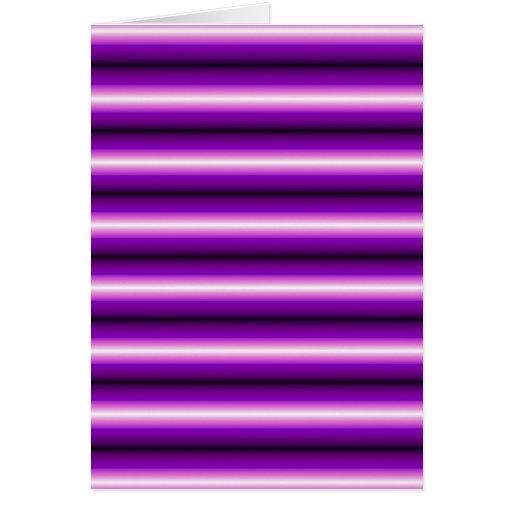 Línea púrpura modelo tarjeta de felicitación