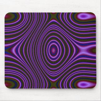 Línea púrpura oscura modelo alfombrilla de ratón
