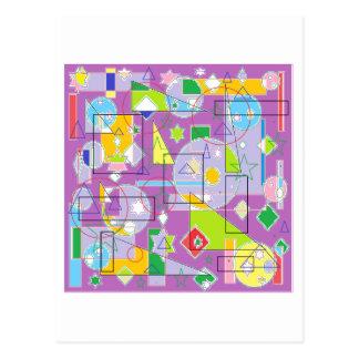 Línea púrpura postales