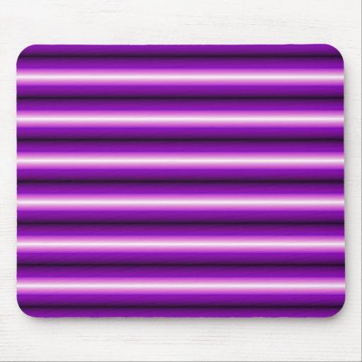 Línea púrpura y negra alfombrilla de ratón