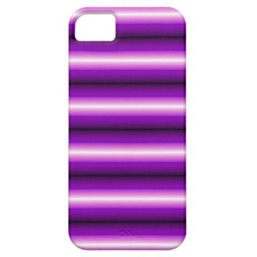 Línea púrpura y negra iPhone 5 cobertura