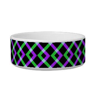 Línea: Púrpura y verde Comedero Para Mascota