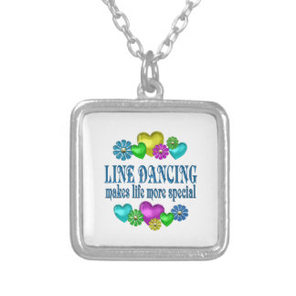 Línea que baila más especial colgante cuadrado