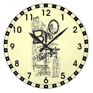 Línea rápida 1869 reloj del modelo del