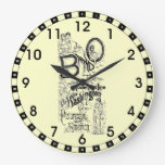 Línea rápida 1869 reloj del modelo del Ferrocarril