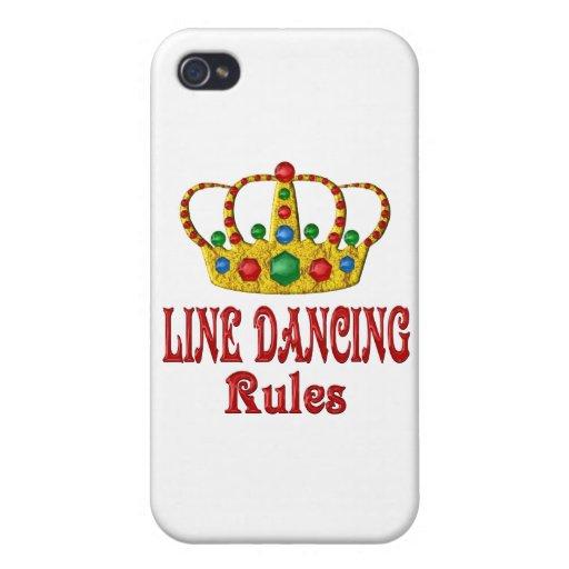 LÍNEA REGLAS DEL BAILE iPhone 4/4S FUNDA