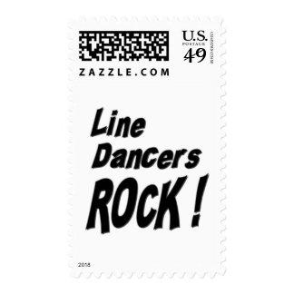¡Línea roca de los bailarines! Franqueo