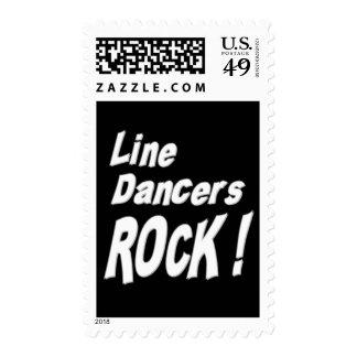¡Línea roca de los bailarines! Sellos