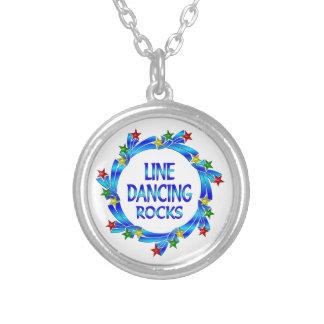 Línea rocas del baile pendientes personalizados