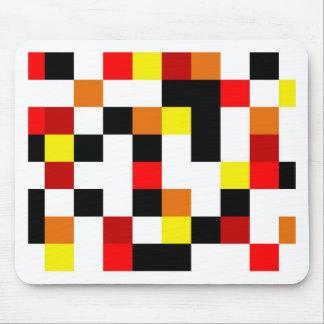 Línea roja diseño de Mousepads- Tapetes De Ratón