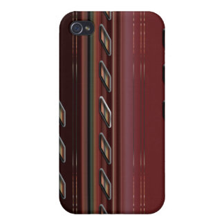 Línea roja iPhone 4 carcasa