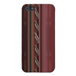 Línea roja iPhone 5 fundas