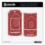 Línea roja modelo MOTORAZR2 v9 skins