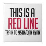 Línea roja teja de CTA
