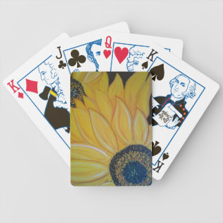 LineA Sunflower Duo Bicycle Playing Cards