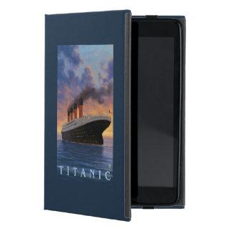 Línea titánica de la estrella de SceneWhite iPad Mini Protectores