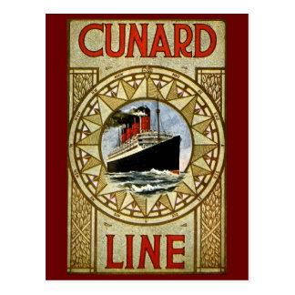 Línea trazador de líneas de lujo del RMS Tarjetas Postales