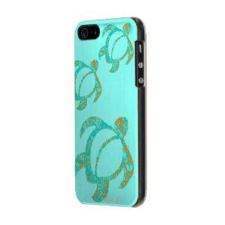 LineA Trio- LavaAbstract Honu Incipio Feather® Shine iPhone 5 Case