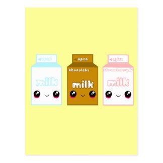 Línea triple de la leche de Japón del tabú Postal