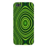 Línea verde oscuro modelo iPhone 5 cobertura