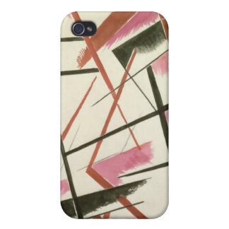 Linear Construction, c.1921 (gouache on paper) iPhone 4 Cover
