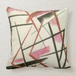 Linear Construction, c.1921 (gouache on paper) Pillow