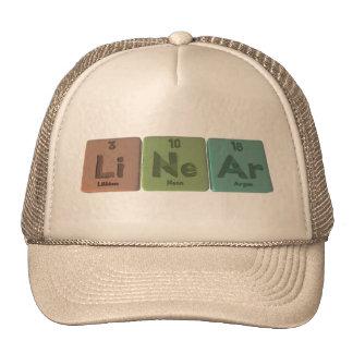 Linear-Li-Ne-Ar-Lithium-Neon-Argon.png Gorras De Camionero