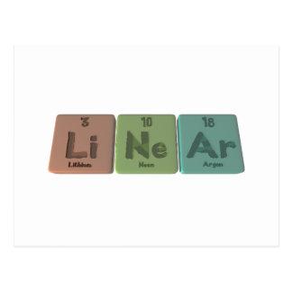 Linear-Li-Ne-Ar-Lithium-Neon-Argon.png Postcard