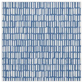 Linear, Modern Pattern - Sagamore - Blue Fabric