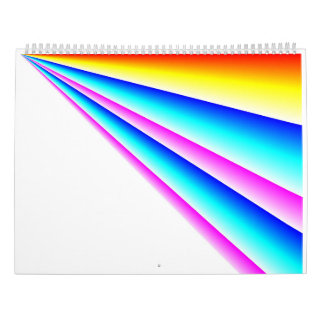 Linear Rainbows 2017 Calendars