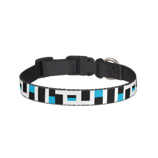 Linear Sequence Pattern Design Pet Collar