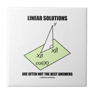 Linear Solutions Are Often Not The Best Answers Ceramic Tile