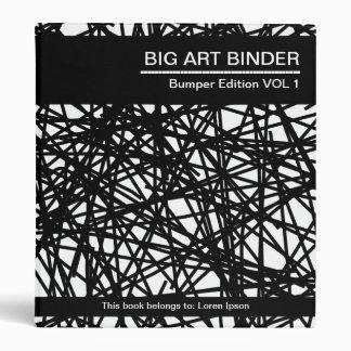 Líneas abstractas grandes de la carpeta 028 (el