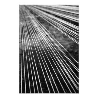 Líneas abstractas impresión fotográfica
