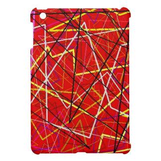 Líneas abstractas rojas