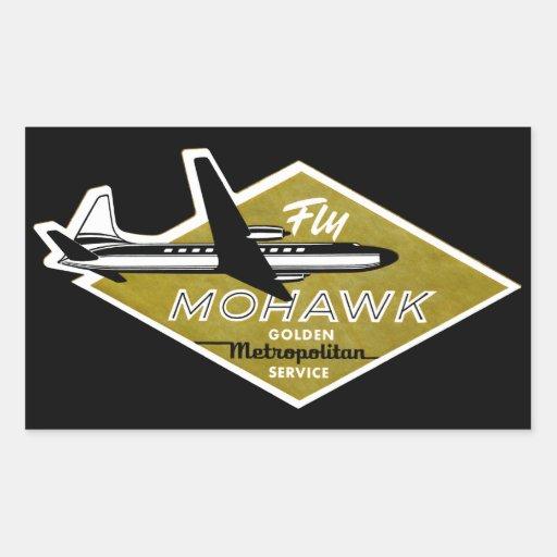 Líneas aéreas 1960 del Mohawk II Etiquetas