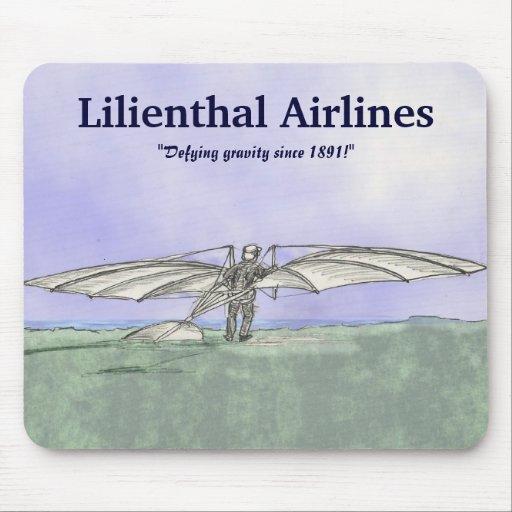 Líneas aéreas de Lilienthal Tapetes De Raton