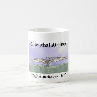Líneas aéreas de Lilienthal Taza De Café