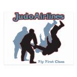 Líneas aéreas del judo postal
