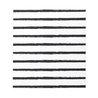 Líneas ásperas blancas texturizadas modelo del blocs