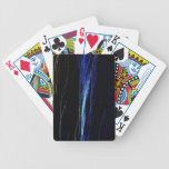Líneas azules barajas de cartas