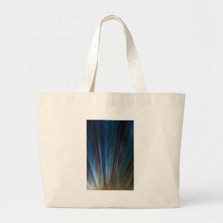 Líneas azules sucias fondo del oro de la textura bolsa tela grande