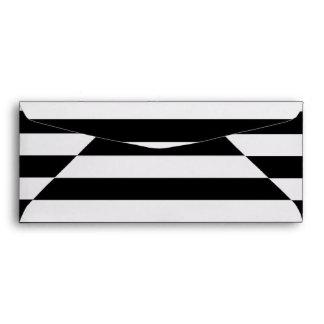 Líneas blancos y negros modelo de las rayas sobres