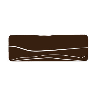 Líneas caprichosas (Brown) Etiquetas De Remite
